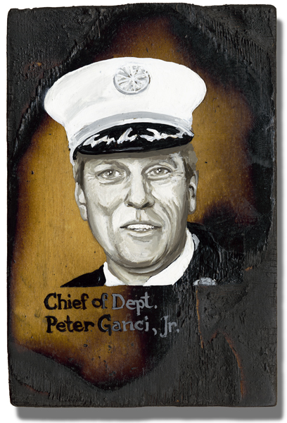 Ganci Jr., Chief of Dept. Peter