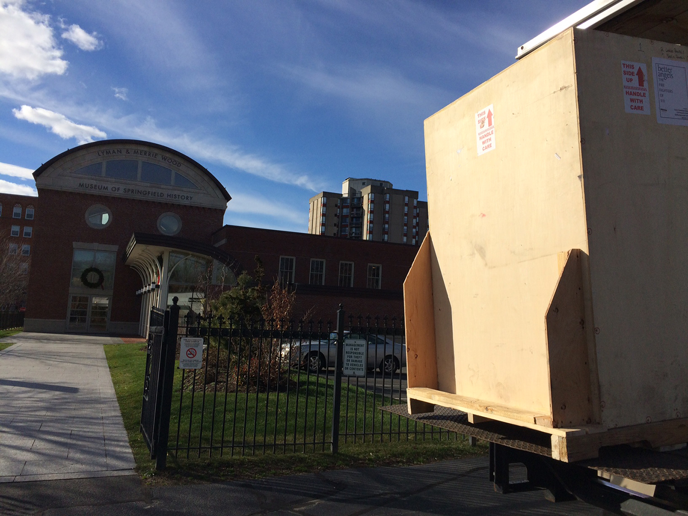 BA Crate1 on Liftgate